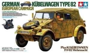 Tamiya 36205 Kubelwagen Typ 82 kampania europejska - skala 1:16