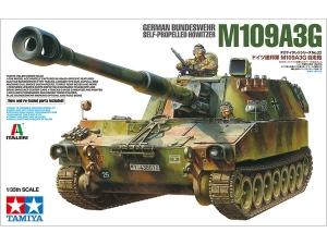 Tamiya 37022 samobieżna haubica M109A3G