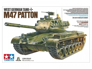 Tamiya 37028 Czołg M47 Patton model 1-35