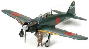 Tamiya 60318 Mitsubishi A6M5 Zero Fighter Model 52 (Zeke)