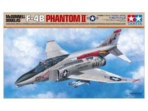 Tamiya 61121 Samolot F-4B Phantom II model 1-48