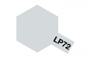 Tamiya 82172 LP-72 Mica Silver - Lacquer Paint
