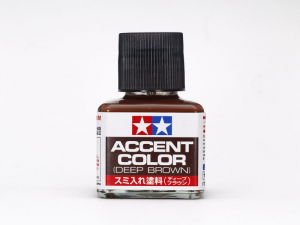Tamiya 87210 Accent Color - Dark Red-Brown 40ml