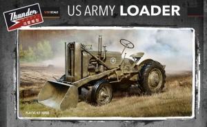 Thunder Model 35002 Amerykański wojskowy ciągnik