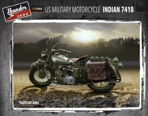 Thunder Model 35003 Motocykl Indian 741B w skali 1-35