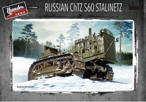 Thunder Models 35400 ciągnik gąsienicowy ChTZ S60 Stalinetz