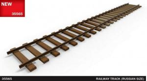 Tory kolejowe model Miniart 35565 rozstaw rosyjski