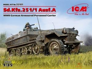 Transporter opancerzony ICM 35101 Sd.Kfz. 251/1 Ausf. A