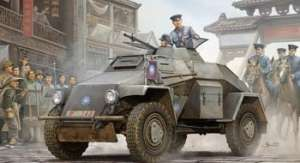 Transporter opancerzony Sd.Kfz.221 model CB35022 Bronco
