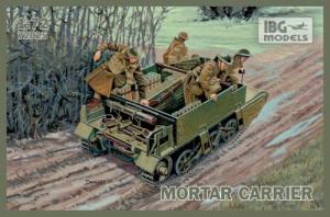 Transporter opancerzony Universal Carrier I Mk. II z moździerzem