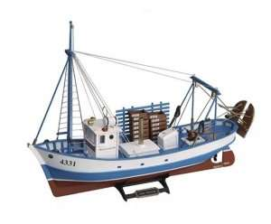 Trawler Mare Nostrum Artesania 20100-N drewniany statek 1-35