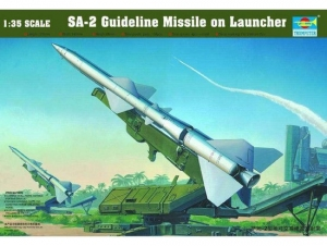 Trumpeter 00206 SAM-2 Missile with Launcher Cabin