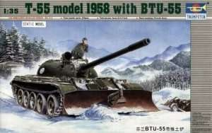 Trumpeter 00313 Finnish T-55 Model 1958 With BTU-55