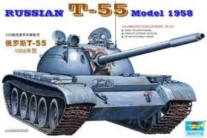 Trumpeter 00342 Russian T-55 Mod 1958