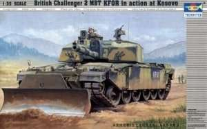 Trumpeter 00345 Challenger 2 KFOR in action at Kosovo