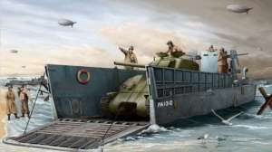 Trumpeter 00347 WWII US Navy LCM(3) Landing Craft