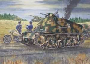 Trumpeter 00355 German 38(H) the artillery observation vehicle