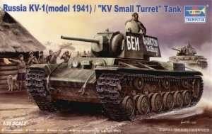 Trumpeter 00356 Russian KV-1 (model 1941) tank