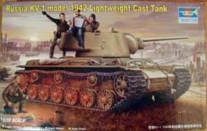 Trumpeter 00360 Russian KV-1 model 1942 Lightweight Cast Turret