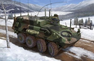Trumpeter 00371 USMC LAV-C2 Light Armored Vehicle Command and Control