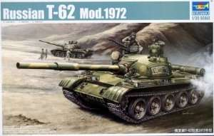 Trumpeter 00377 Russian T-62 Mod 1972