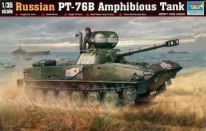Trumpeter 00381 Russian PT-76B Amphibious Tank