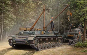 Trumpeter 00389 German Bergepanzer IV Recovery Vechicle