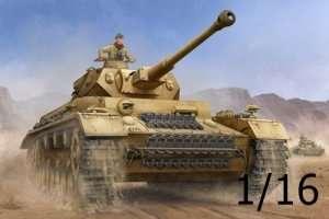 Trumpeter 00919 Pzkpfw IV Ausf.F2 medium Tank