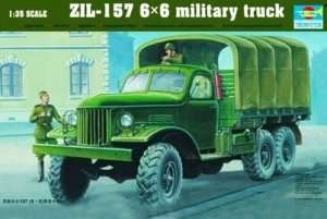 Trumpeter 01001 ZIL-157 6X6 Military Truck