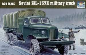 Trumpeter 01003 ZIL-157K Military Truck