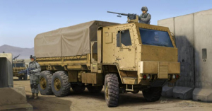 Trumpeter 01008 M1083 MTV Cargo Truck with Armor Cab