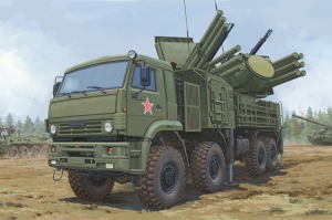 Trumpeter 01060 72V6E4 Combat Vehicle of 965K6 Pantsir-S1 ADMGS