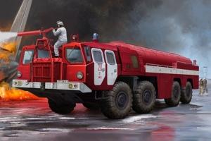 Trumpeter 01074 Lotniskowy wóz strażacki AA-60 7310 model 160.01 ARFF