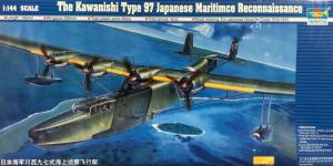 Trumpeter 01322 Samolot Kawanishi Typ 97 model 1-144