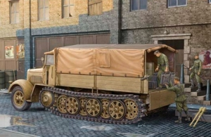 Trumpeter 01507 German Sd.Kfz.7 KM m 11 Mittlere Zugkraftwagen 8t (Late Version)