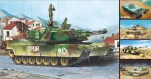 Trumpeter 01535 M1A1/A2 Abrams 5 in 1