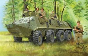 Trumpeter 01543 Transporter opancerzony BTR-60PA