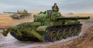 Trumpeter 01550 Czołg T-62 Mod. 1975 z KMT-6