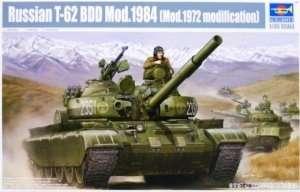 Trumpeter 01554 Russian T-62 BDD Mod.1984 (Mod.1972 modification)