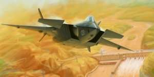 Trumpeter 01665 Chinese J-20 Mighty Dragon