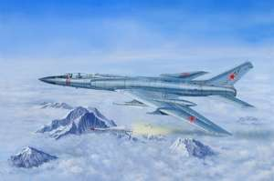 Trumpeter 01687 Samolot Tu-128M Fiddler