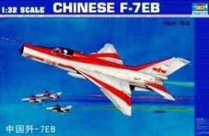 Trumpeter 02217 Chinese F-7EB