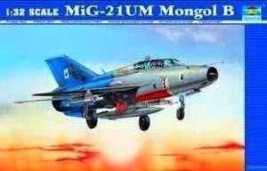 Trumpeter 02219 MiG-21UM Mongol B