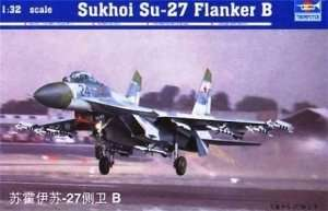 Trumpeter 02224 Sukhoi Su-27 Flanker B