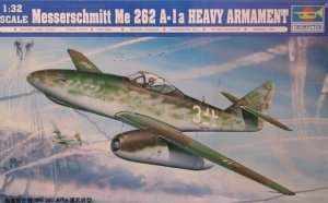 Trumpeter 02260 Messerschmitt Me 262 A-1a Heavy Armament