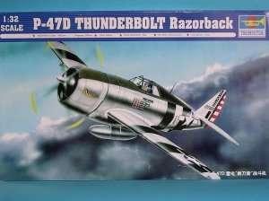 Trumpeter 02262 P-47D Thunderbolt Razorback