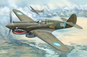 Trumpeter 02269 Samolot P-40E War Hawk
