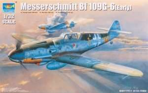 Trumpeter 02296 Messerschmitt Bf109G-6(Early)
