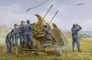 Trumpeter 02347 German 37mm Flak 43 Zwilling