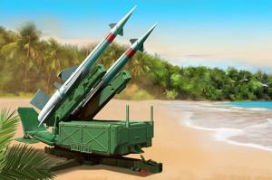 Trumpeter 02353 Wyrzutnia rakiet 5P71 z 5V27 Pechora model 1-35